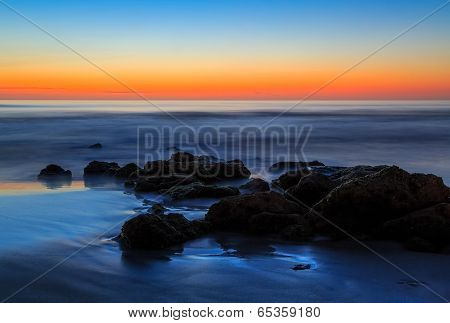 Beach Boulders Sunrise
