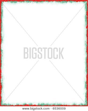 Christmas Border - Grunge Style