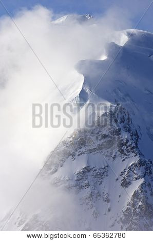 Mont Blanc du Tacul, Mont Blanc Massif, Chamonix, Alps, France