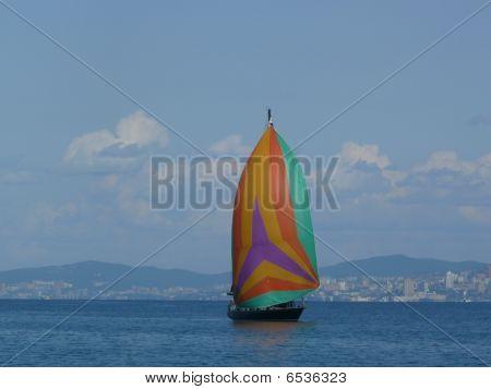 Sail sea sky