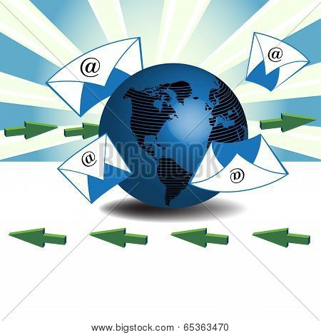 Sending and receiving emails