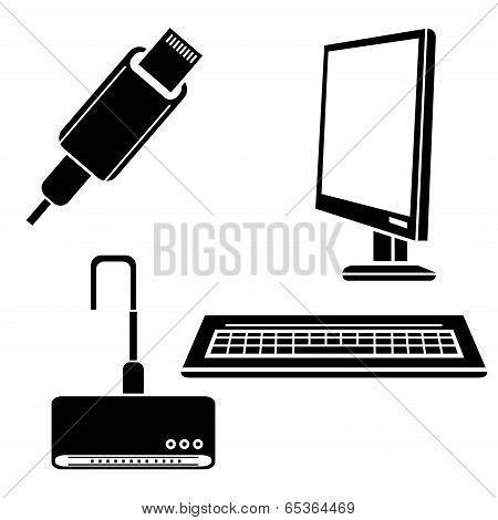 computer and appliance icons