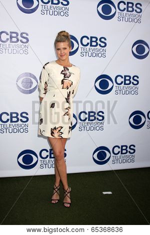 LOS ANGELES - MAY 19:  Sarah Wright at the CBS Summer Soiree at London Hotel on May 19, 2014 in West Hollywood, CA