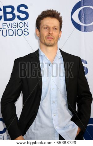LOS ANGELES - MAY 19:  Will Estes at the CBS Summer Soiree at London Hotel on May 19, 2014 in West Hollywood, CA