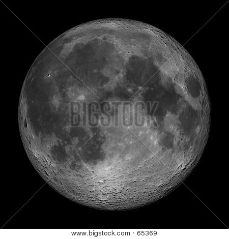 Lunar Landscape -  The Moon