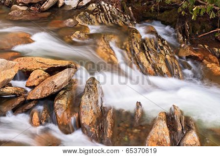 Whitewater And Rocks