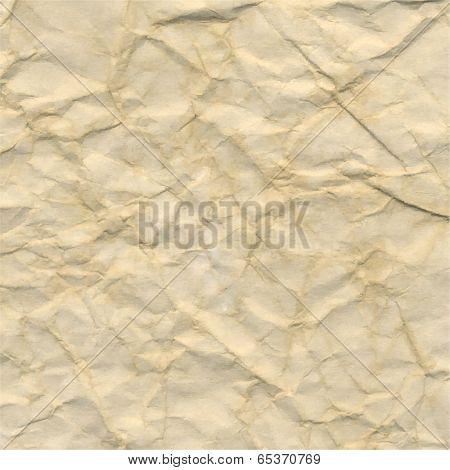 Crushed Paper, Vector Illustration