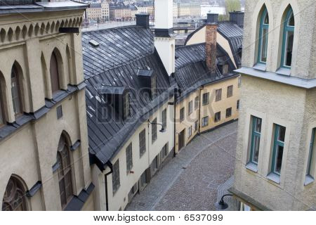 Historical buildings in Stockholm