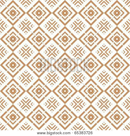 Background of seamless floral pattern