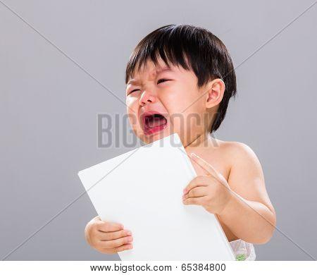 Baby boy hate book