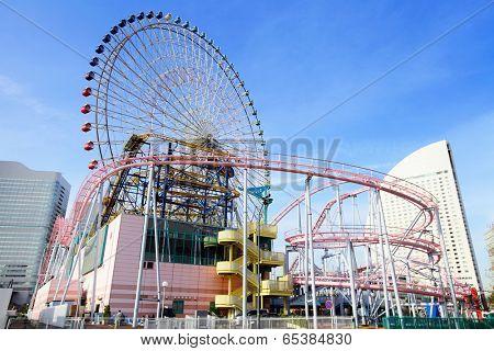 Amusement park in Yokohama