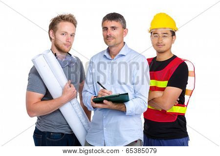 Group of engineer from different country