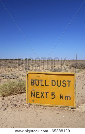 Bull Dust Sign