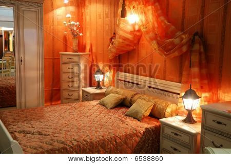 Decorated Bedroom