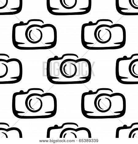 Seamless pattern of a compact camera