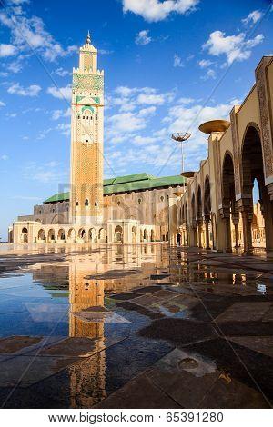 Great hassan II mosque