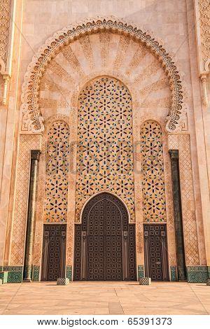 Mosque of hassan II