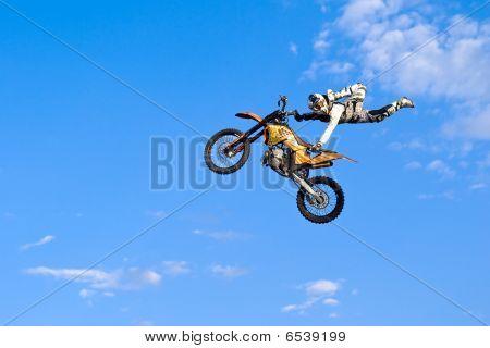 Flying Biker