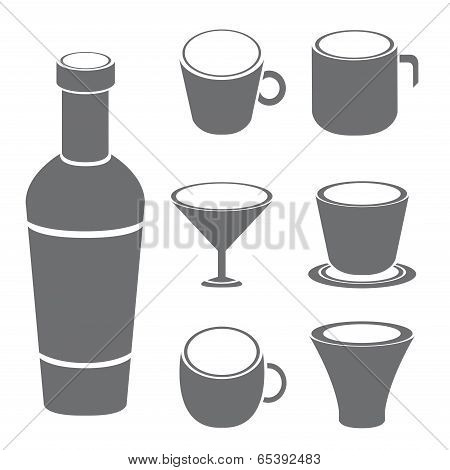 cup and bottle