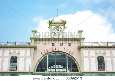 Central Pier front entrance, Hong Kong