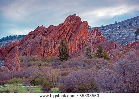 Scenic Colorado Rock