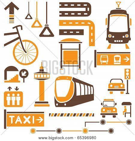 public traffic sign