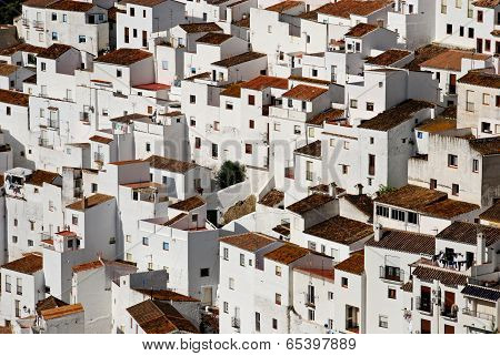 Town buildings, Casares, Spain.
