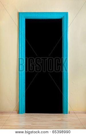 Blue Doorway.