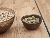 foto of malt  - beer ingredients - JPG