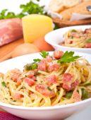 Servings Of Spaghetti Carbonara poster