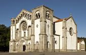 stock photo of neo  - Church of Our Lady of Assumption located in Santo Tirso - JPG