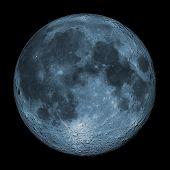 Постер, плакат: Голубая луна