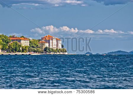 Town Of Zadar Blue Seafront