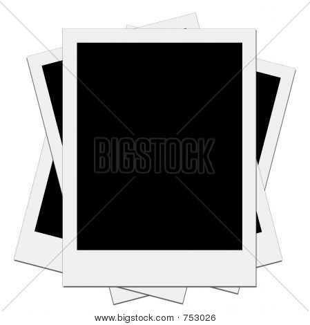 Blank Instant photo Instant Picture
