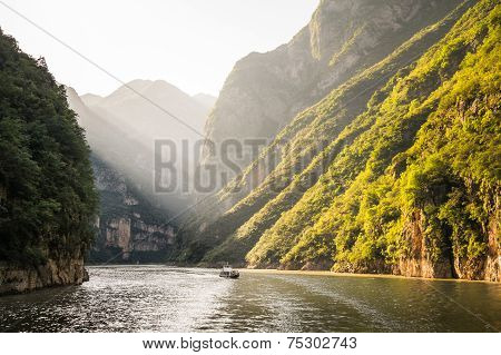 Long river in China