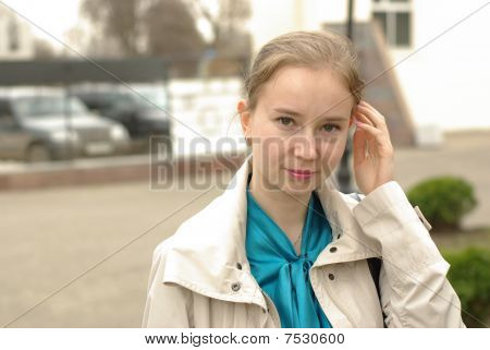 Female in the street