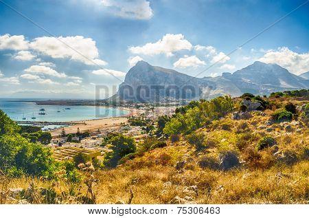 Panoramic View Of San Vito Lo Capo, Sicily