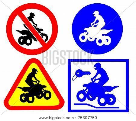 ATV traffic signs sites