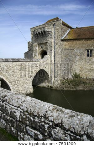 Leeds Castle Moat Bridge Kent