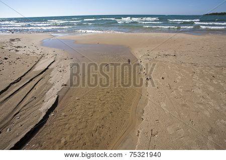 Shoreline Lake Huron