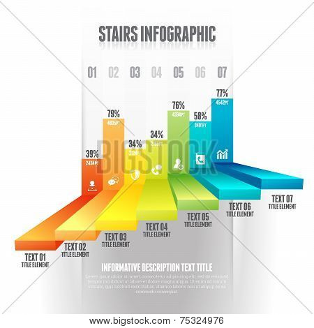 Stairs Infographic