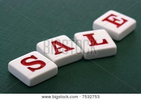 Letters Sale