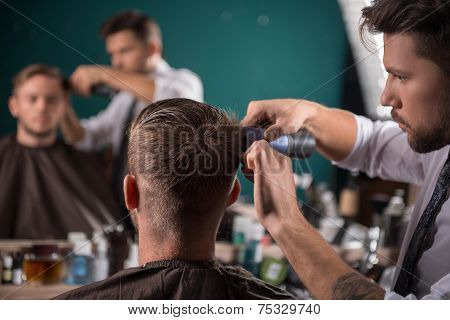 professional  hairdressing salon