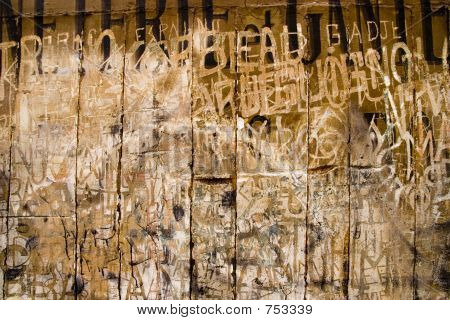 Ancient French Graffito
