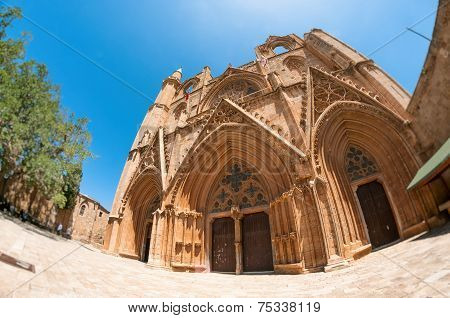 Lala Mustafa Pasha Mosque Formerly St. Nicholas Cathedral. Famagusta, Cyprus