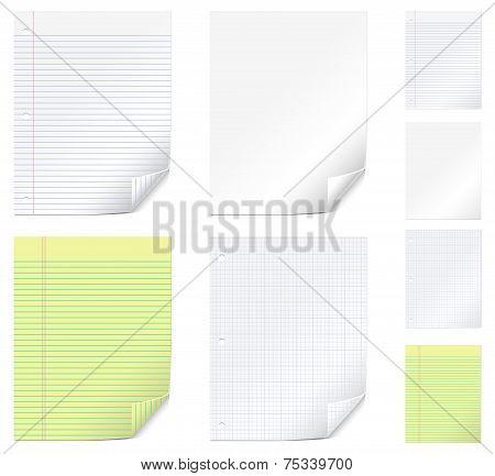 Vector Paper Set
