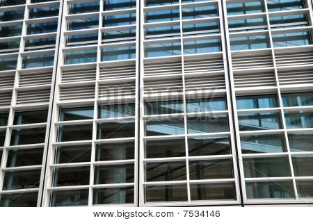 Modern Building Windows Details