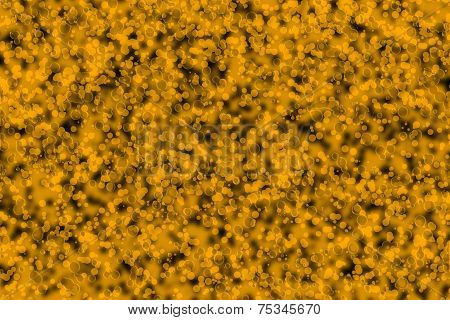 Defocused abstract ochre background