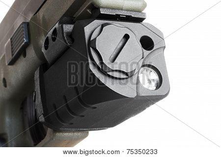 Lasered Handgun