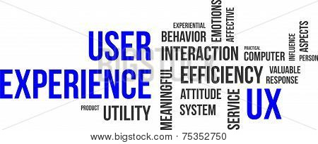 word cloud - user experience